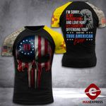 New Mexico 3% Patriot Tshirt 3d - All Over Print DH2708HTQ
