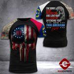 North Carolina 3% Patriot Tshirt 3d - All Over Print DH2708HTQ