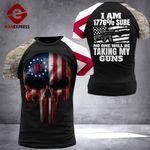 Alabama 3% Patriot Tshirt 3d - All Over Print DH2708HVQ