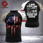 California 3% Patriot Tshirt 3d - All Over Print DH2708HVQ
