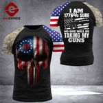 US 3% Patriot Tshirt 3d - All Over Print DH2708HVQ