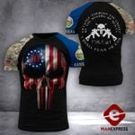 Kansas 3% Patriot Tshirt 3d - All Over Print DH2708PDT