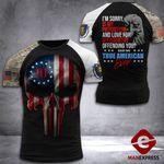 Massachusetts 3% Patriot Tshirt 3d - All Over Print DH3108HTQ