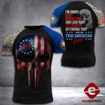 New Hampshire 3% Patriot Tshirt 3d - All Over Print DH3108HTQ