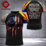 Arizona 3% Patriot Tshirt 3d - All Over Print DH3108PDT