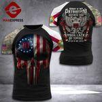 Florida 3% Patriot Tshirt 3d - All Over Print DH3108PDT