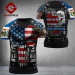 West Virginia 3% Patriot Tshirt 3d - All Over Print DH3108TMA