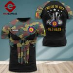 Customized Belgian Soldier Tshirt 3d - All Over Print DH0109PDT