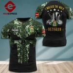 Denmark Soldier Tshirt 3d - All Over Print DH0109PDT