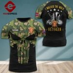 Norway Soldier Tshirt 3d - All Over Print DH0109PDT
