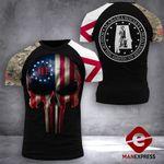 Alabama Society 3% Patriot Tshirt 3d - All Over Print DH0109TMA