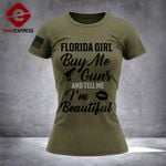 Florida Society 3% Patriot Tshirt 3d - All Over Print DH0109HTQ