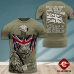 AH British Veterans TSHIRT 3D PRINTED SEP-MA06