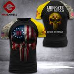 New Mexico Liberate Patriot Shirt 3D Print DH-PDT069