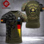 German Soldier Camo Shirt 3d Print DH-MA0609