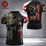 Florida Patriot Worrior Tshirt 3D Print DH060921HVQ
