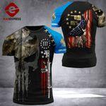 Oklahoma Patriot Worrior Tshirt 3D Print DH060921HVQ