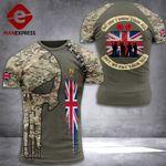 UK We Don't Know Them All Tshirt 3d Print DH0609htq