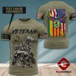 AH Personalized Vietnam Veterans Army Security Acency TSHIRT 3D PRINTED SEP-HQ08