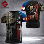 Colorado Patriot Worrior Tshirt 3D Print DH0680921HVQ
