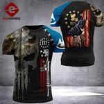 Louisiana Patriot Worrior Tshirt 3D Print DH0680921HVQ