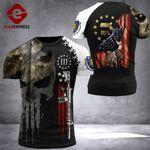 Massachusetts Patriot Worrior Tshirt 3D Print DH0680921HVQ