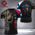 Texas Patriot Soldier Tshirt DH080921PDT