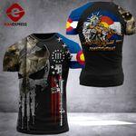 Colorado Patriot Tshirt 3D Print DH0909HTQ
