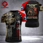 Tennessee Patriot Evil Men Tshirt 3D Print 0909HVQ