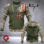 US Army Hoodie 3D Print NMQ0909