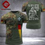German Soldier Tshirt 3D Print PDT0909