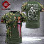 Norway Soldier Tshirt 3D Print PDT0909