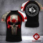 Canadian Patriot Society Tshirt 3D Print 0909TMA