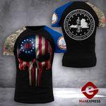 Virginia Patriot Society Tshirt 3D Print 0909TMA