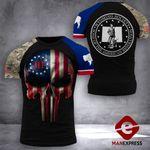 Wyoming Patriot Society Tshirt 3D Print 0909TMA