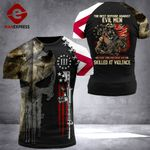 Alabama Patriot Evil Men Tshirt 3D Print 0908HVQ