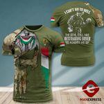 AH Hungarian Army Veterans TSHIRT 3D PRINTED AUG-DT10