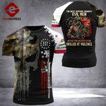 California Patriot Evil Men Tshirt 3D Print 1009HVQ