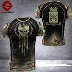 Italian Army Combat Tshirt 3D NMQ1009