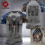 AH South Carolina Patriots TSHIRT 3D PRINTED SEP-HQ11