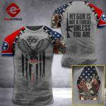 AH Tennessee Patriots TSHIRT 3D PRINTED SEP-HQ11
