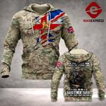 UK Soldier Hoodie 3D Print 11092021HTQ