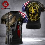 US Patriot Oath Keepers Tshirt 3D Print 110921PDT