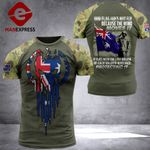 Australian Flag COmbat Tshirt 110921TMA