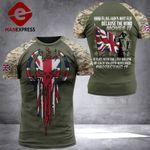 British Flag Combat Tshirt 110921TMA