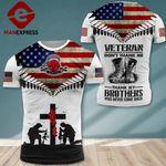 AH U.S Veterans TSHIRT 3D PRINTED SEP-DT13