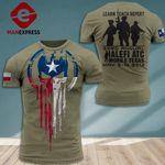 AH Texas Veterans TSHIRT 3D PRINTED SEP-DT14