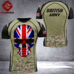 BRITISH ARMY TSHIRT 3D PRINTED 1409321HQ