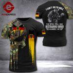 AH German Veterans TSHIRT 3D PRINTED SEP-QH15