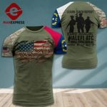 AH North Carolina Patriots TSHIRT 3D PRINTED SEP-DT15